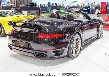 2015 TechArt Porsche 911 Turbo S Cabriolet