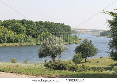 River Saksagan in Ukraine