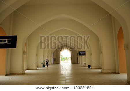 Tengku Ampuan Jemaah Mosque in Selangor, Malaysia