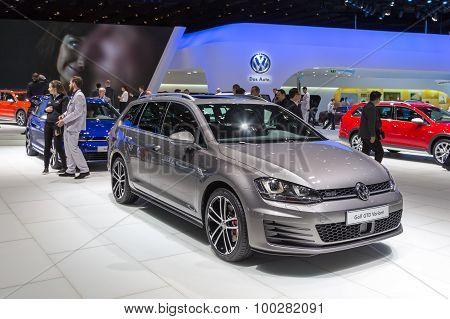 2015 Volkswagen Golf GTD Variant