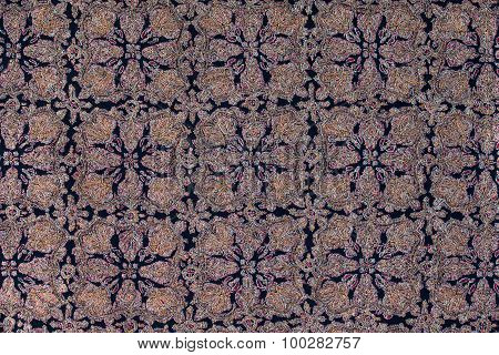 Traditional Paisley Pattern Cashmere Pashmina Sample