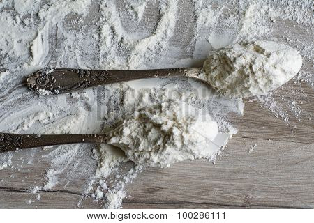 Two Tablespoons Of Flour.