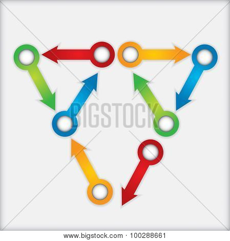 Business Concept, Flow Chart Template