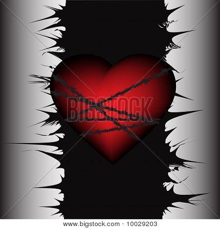 Associated heart