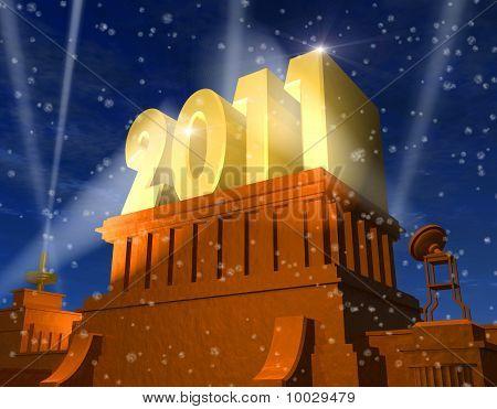 Neujahrsfeier 2011