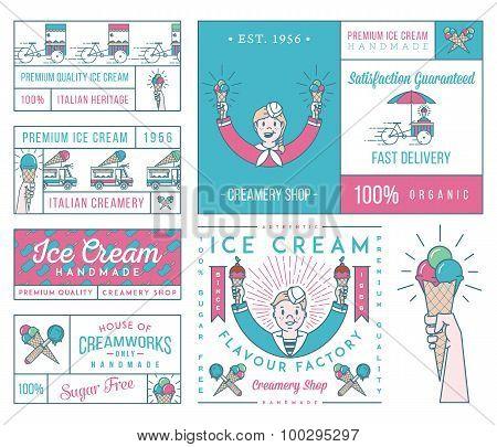 Ice Cream 4 Colored