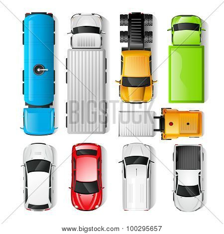 Cars Top View