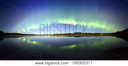 Northern Lights Panorama