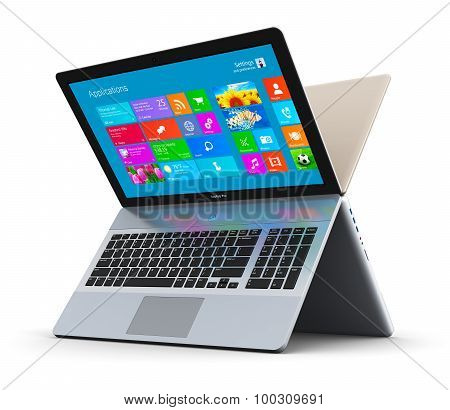Modern laptops