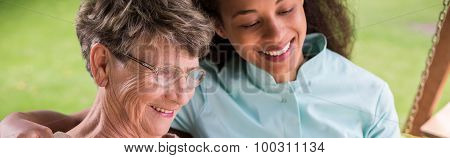 Nursing Home Female Resident