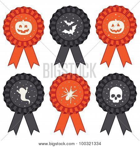 Halloween Rosettes