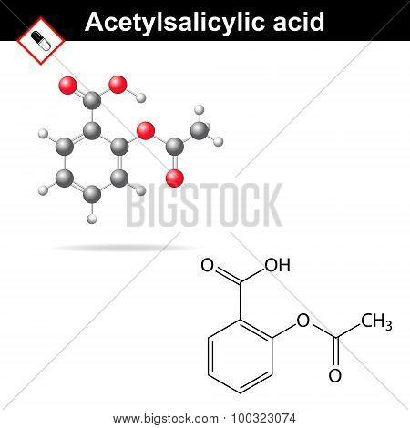 Acetylsalicylic Acid Formula