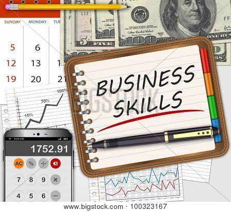 Business Skills Concept