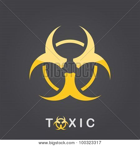 Toxic Sign, Bio Hazard Icon