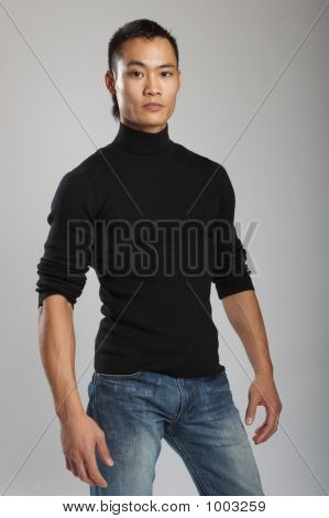 Young Asian Male Model