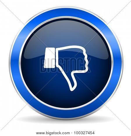 dislike icon thumb down sign
