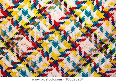 Overlapping Measuring Tapes Background