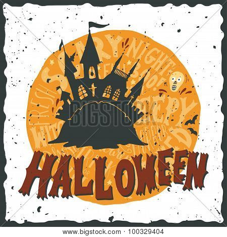 Halloween Grunge Illustration