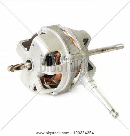 Generator In Fan Isolate On White Background