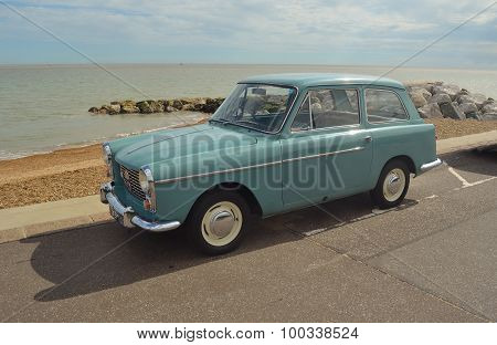 Classic Light Blue Austin A40