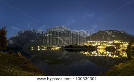Molveno, Night Panorama