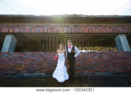 Happiness Wedding Couple