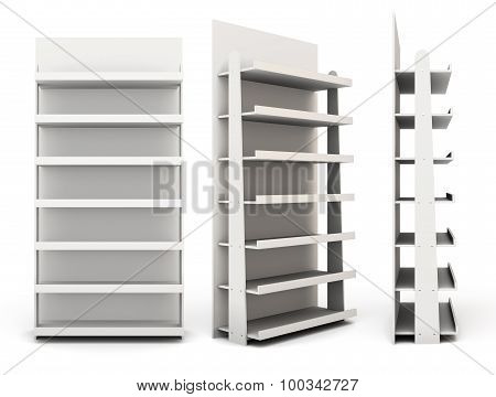 Shop Racks From Different Angles