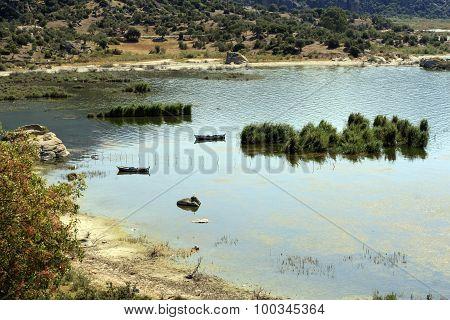 Bafa Lake, Turkey.
