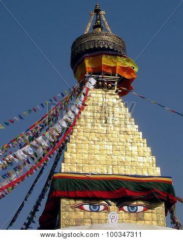 Great Stupa of Boudhanath Kathmandu Nepal