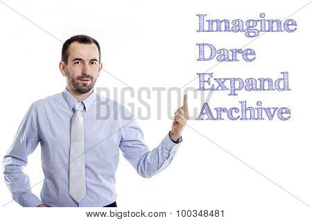 Imagine Dare Expand Archive Idea