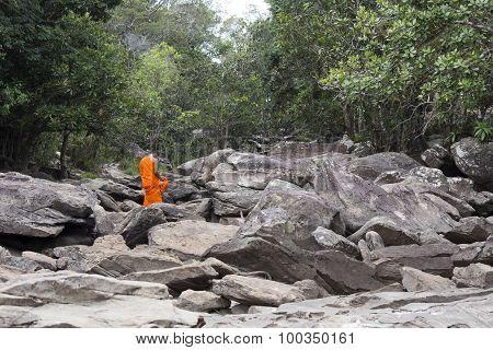 Popokvil Waterfall, Kep