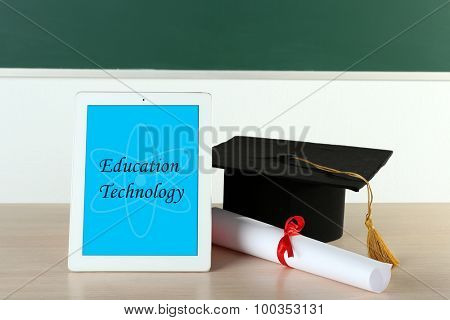New education technology concept