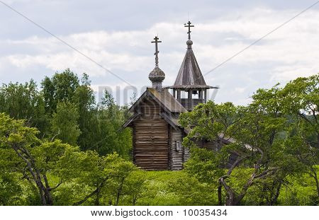 Archangel Michael Orthodox chapel on Kizhi island
