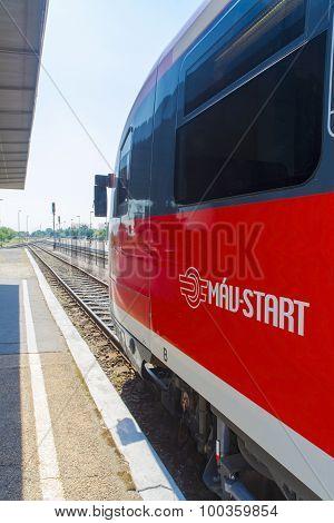 Mav Train In Balatonfured