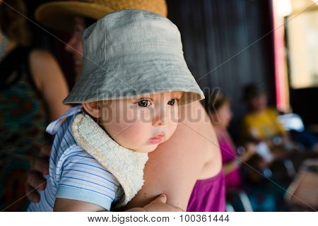 Cute Baby With Hat