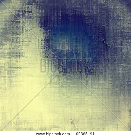 Old grunge antique texture. With different color patterns: yellow (beige); blue; cyan; gray