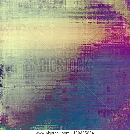 Old school textured background. With different color patterns: yellow (beige); blue; cyan; purple (violet)