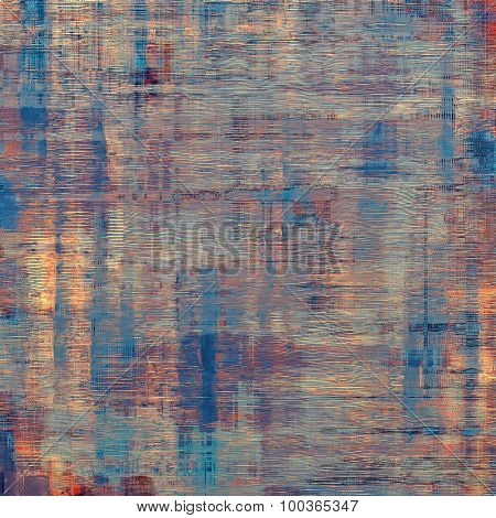 Old background with delicate abstract texture. With different color patterns: yellow (beige); brown; blue; purple (violet)