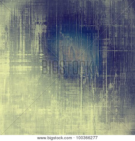 Dirty and weathered old textured background. With different color patterns: yellow (beige); blue; cyan; purple (violet)