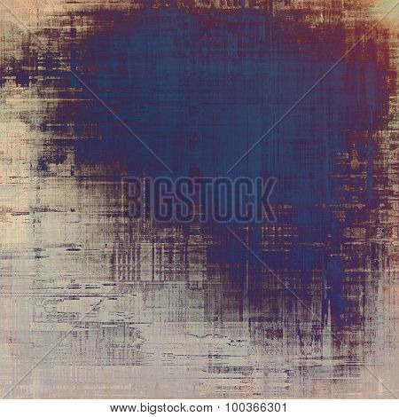 Vintage old texture for creative retro background. With different color patterns: yellow (beige); brown; blue; purple (violet)