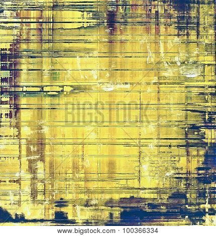 Grunge retro texture, elegant old-style background. With different color patterns: yellow (beige); brown; blue; green