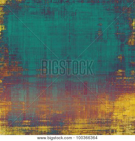 Vintage texture with space for text or image. With different color patterns: yellow (beige); brown; blue; purple (violet)