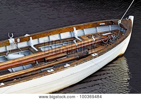 White Rowing Boat