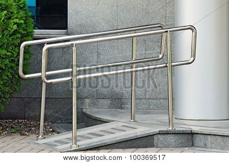 Ramp For Wheelchair Entrance