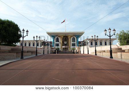 Al Alam Palace in Muscat