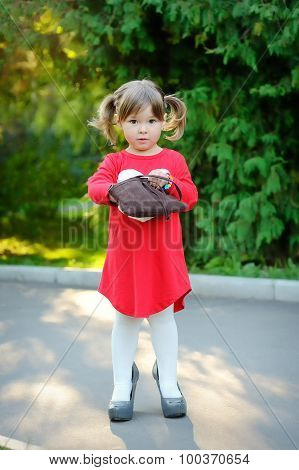 Baby Fashion With Handbag