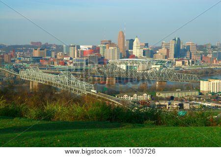 Centro de la ciudad de Cincinnati Ohio