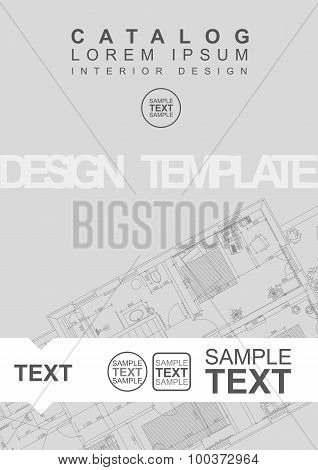 Architectural Flyer Or Cover Template