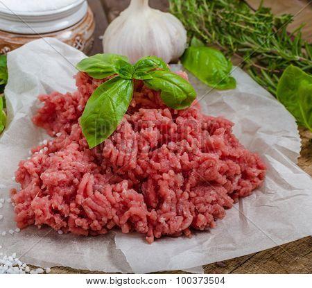 Minced Beef Raw