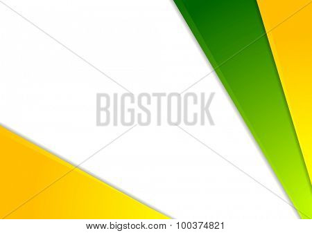 Colorful corporate abstract modern design. Vector background